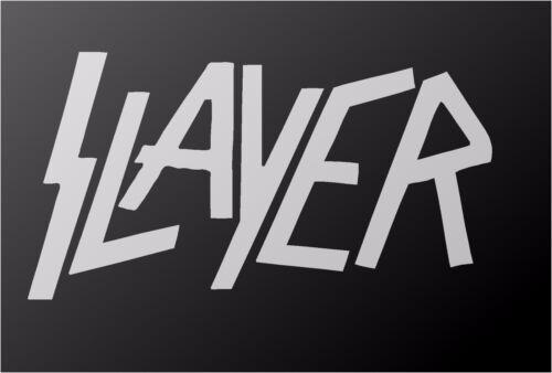 Slayer Thrash Metal Band Autocollant Vinyle Voiture Camion Fenêtre Guitare Portable Autocollant