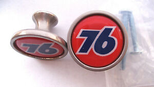 Union 76 Gas Cabinet Knobs, Union 76 Gas Logo Cabinet Pulls, 76 Gas Knobs
