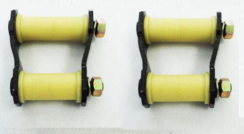 Hintere Blattfeder Bügel /& Buchsen X 2 Für Ford Ranger//Mazda BT50 2.5TD 08//06