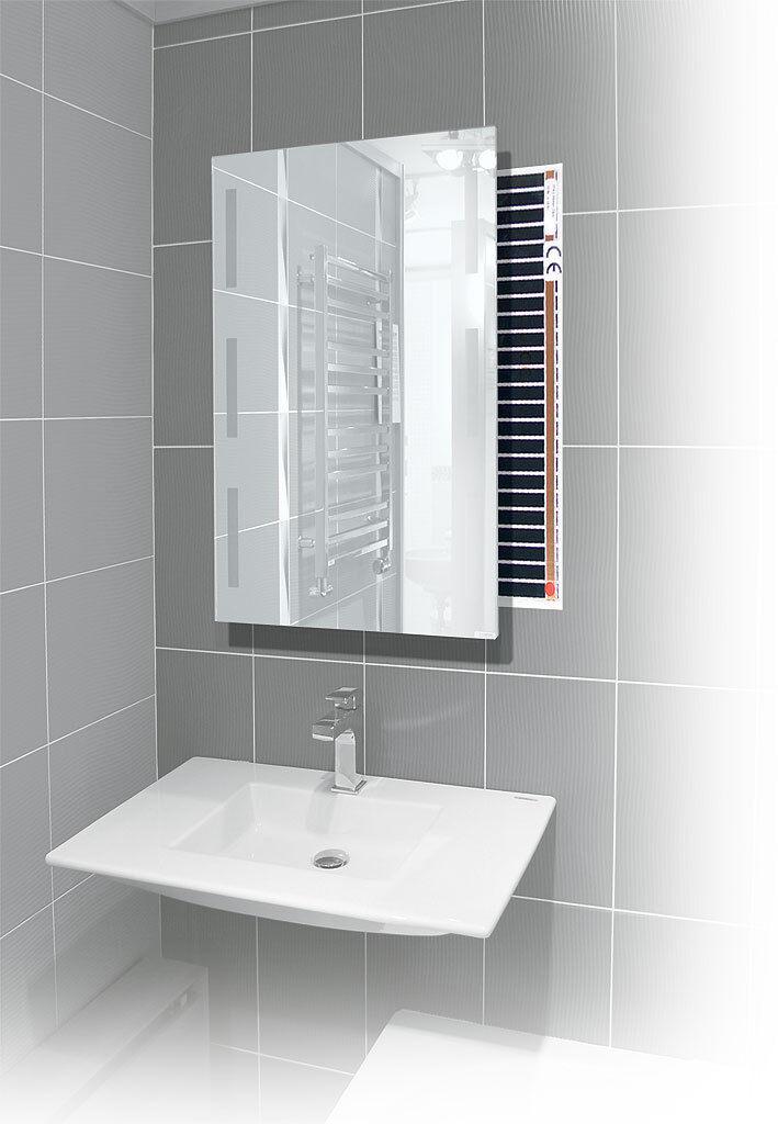 Bathroom Mirror Demister Anti Fog, No Fog 220V Mirror heating Mirror without fog