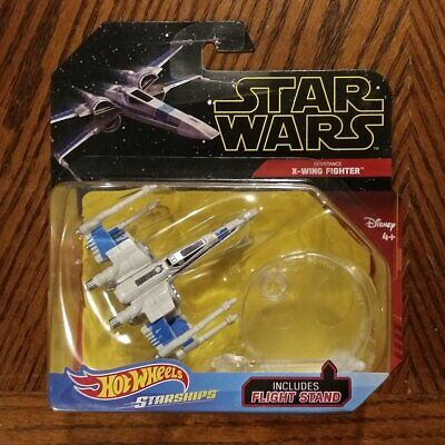 Resistance X Wing Fighter Star Wars Rise Of Skywalker Starships Hot Wheels 887961791723 Ebay
