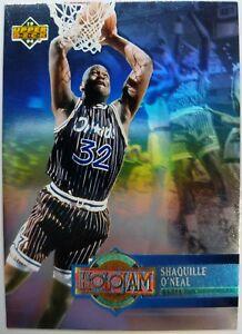 Rare-Insert-Shaquille-O-039-Neal-1993-93-UPPER-DECK-H19-HOLOJAM-HOLOVIEW-CARD