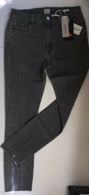 1ccb1bb296 Madison Parsons Highrise SKINNY Ankle Jeans Ashphalt Size 6/28 for ...