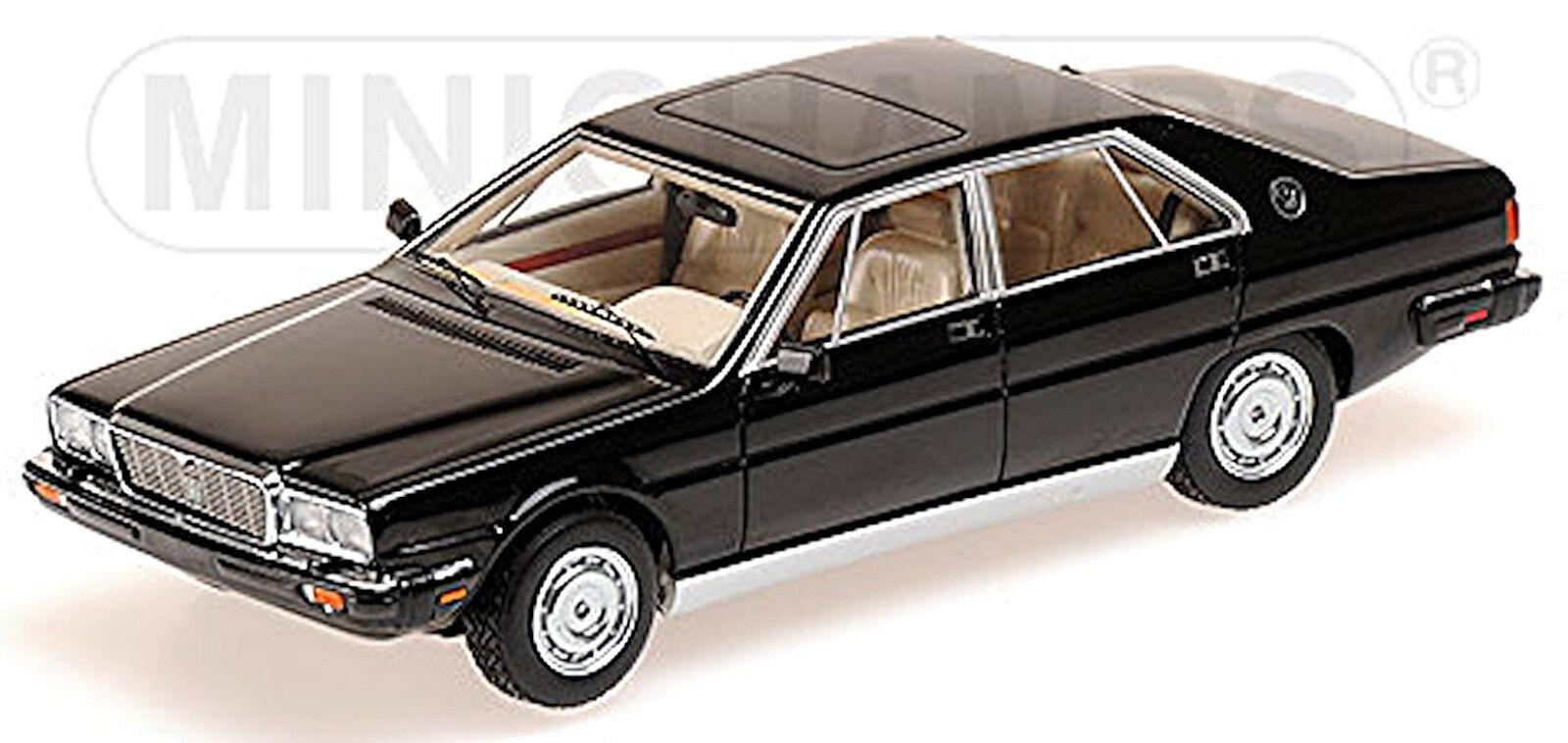 Maserati Quattroporte 3 Royale Berlina 1989 black 1 43 Minichamps