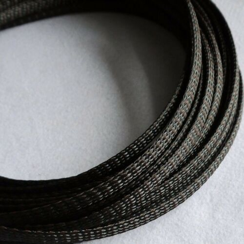 PET Sleeving Cable High Quality 1//3//5//10//20M 4MM Coffee Expandable Braided PP