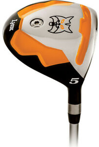 NEW-Lynx-Golf-Predator-Orange-3-amp-5-Fairway-Wood