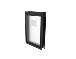 Hakuna-Pets-Large-Deluxe-Black-Aluminium-Pet-Door