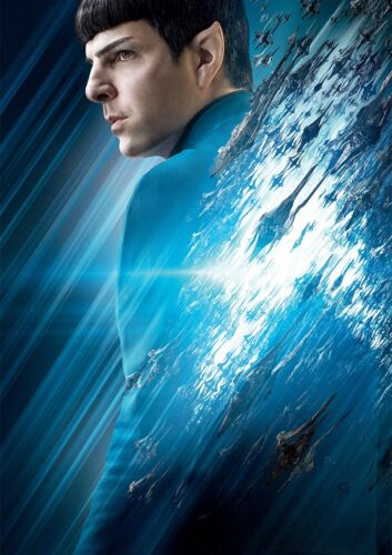 Star Trek BEYOND Poster Zachary Quinto Star SPOCK 2016 FREE P+P CHOOSE YOUR SIZE