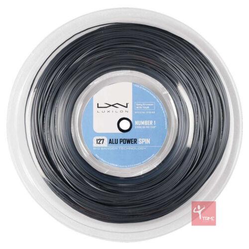 Luxilon Big Banger Alu Power Spin 127 Tennis String 220m Reel