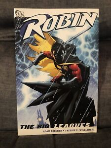 Robin-The-Big-Leagues-Rare-OOP-Paperback-TPB-Paperback-Very-Fine-Or-Better