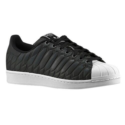 D69366 Men's Adidas Superstar Xeno Reflective Light Onix-Supplier Colour-White