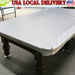 PVC Cloth Ft Heavy Duty Fitted Billiard Pool Table Cover Silver - How heavy is a pool table