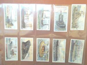 1931-Wills-STRANGE-CRAFT-unusual-boats-ships-tobacco-cigarette-cards-card-set