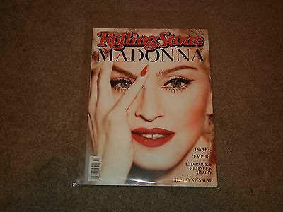 Rolling Stone Magazine Madonna Newsstand Issue (Back Issues, March 12, 2015, New