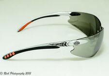 Harley Davidson Safety Glasses - Tinted Grey Wraparound Lens - SPERIAN - HD-1