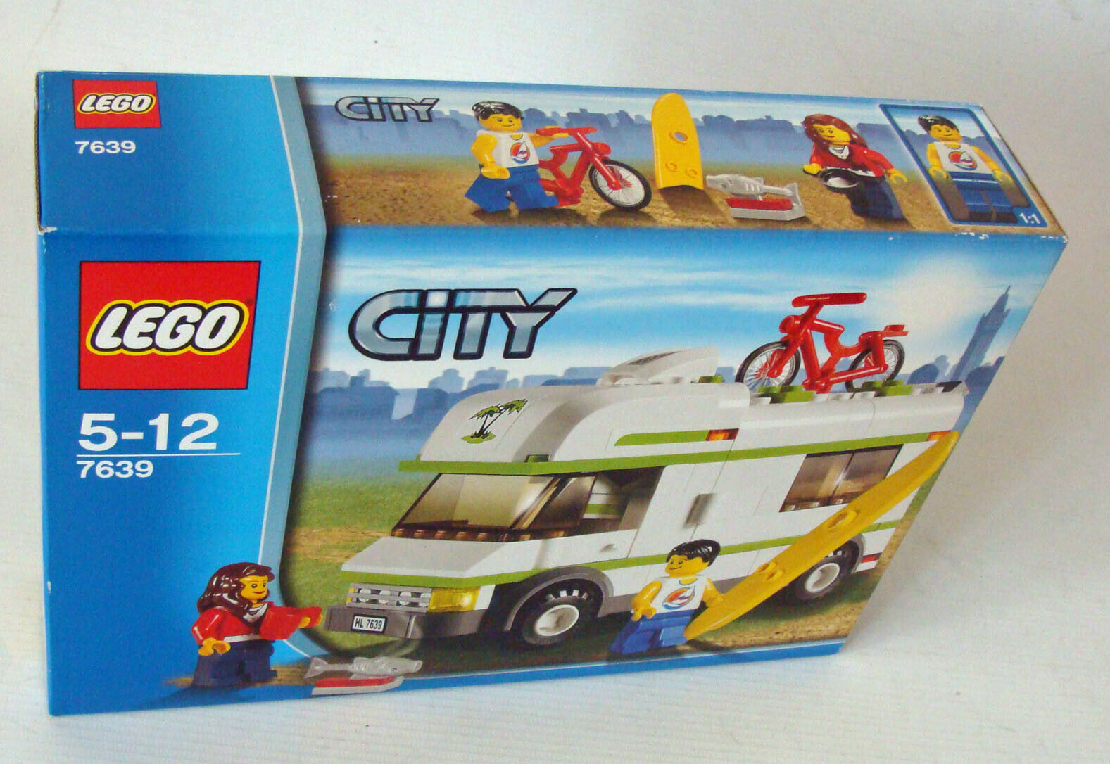 LEGO ® City 7639-camping-car 165 Pièces 5-12 Ans Neuf New