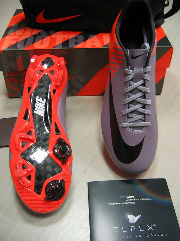NIKE SHOES BOOTS FOOTBALL MERCURIAL SUPERFLY II 40 COD. 409888-508