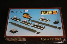 V952 FALLER Train Maquette Ho B-142 quai citerne gaz aiguillage Strecken 142