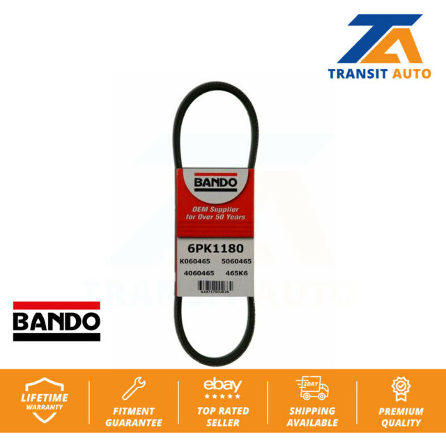 Fan And Air Conditioning BANDO Serpentine Belt For BMW 750iL 850Ci