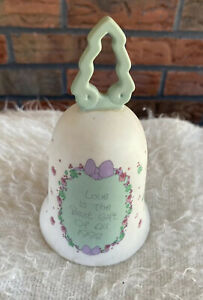 Precious Moments 1992 Bell Love is the Best Gift of All Christmas Doll Enesco
