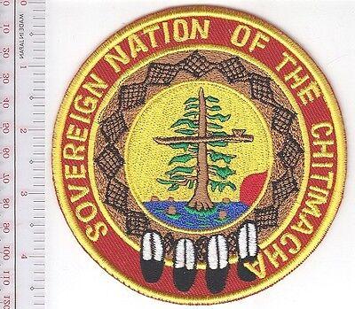 American Indian Tribe Police Louisiana Chitimacha Tribe PD Clarenton LA round
