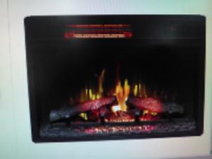Chimneyfree 26 Aviston Electric Fireplace With Safer Plug Insert Only Ebay