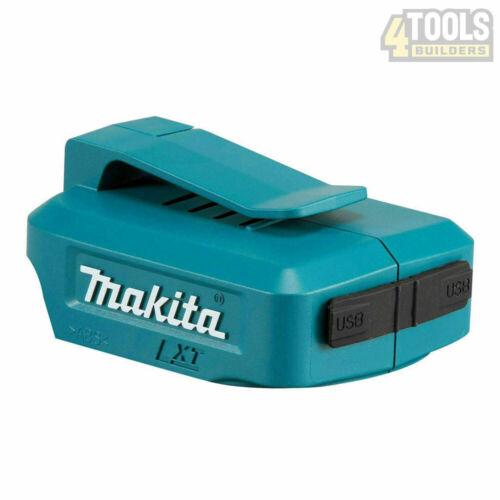 Makita DEBADP 05 double ports USB chargeur de batterie Adaptateur pour 14.4 V /& 18 V Piles