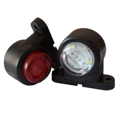 2x LED Umrissleuchte Mini Begrenzungsleuchten 12V 24V Positionsleuchten Anhänger