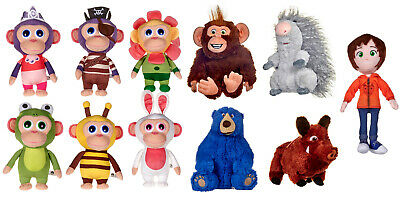 NEW TAGGED OFFICIAL LICENCED WONDER PARK SOFT PLUSH TOYS WONDERPARK CHARACTERS