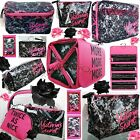 1 VICTORIA'S SECRET BLACK LACE PINK COSMETIC TRAVEL BAG PHONE CASE WALLET U PICK