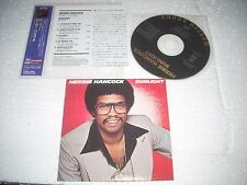 HERBIE HANCOCK - SUNLIGHT  - JAPAN CD MINI LP opened