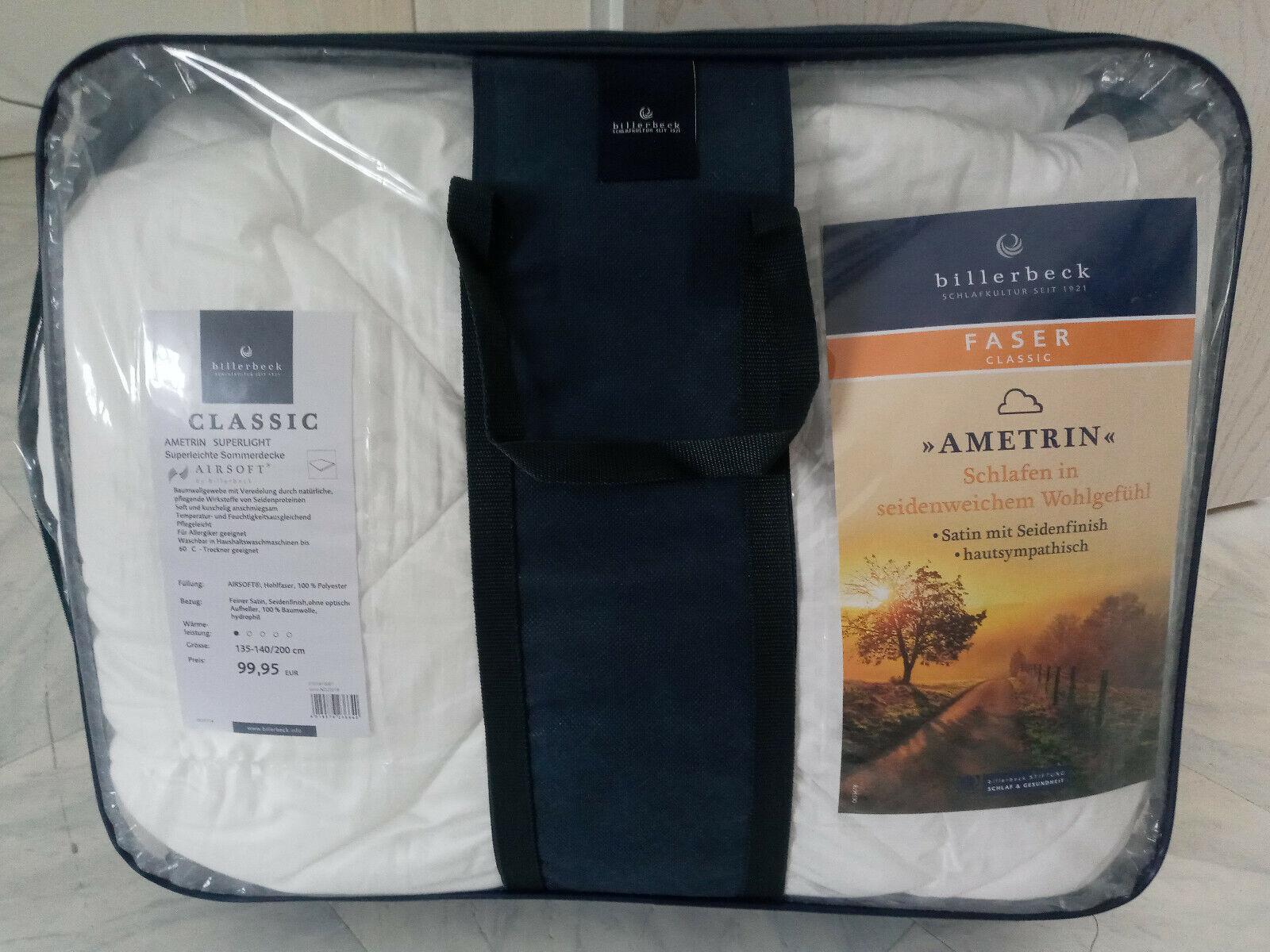 Billerbeck Classic ametrin Superlight Super Lightweight Summer Blanket Duvet