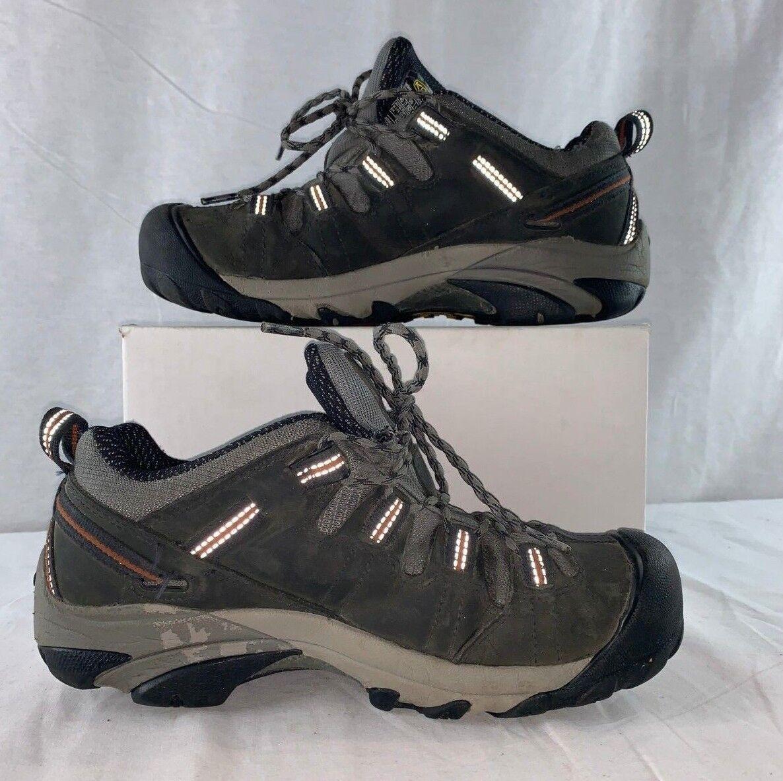 KEEN Utilidad Para Hombre Zapato Detroit Baja De Trabajo Con Puntera De Acero 1007010 D Chaquetón