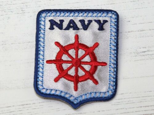 each Nautical Badge Embroidered Iron On Motif Applique Multicoloured MI-1...