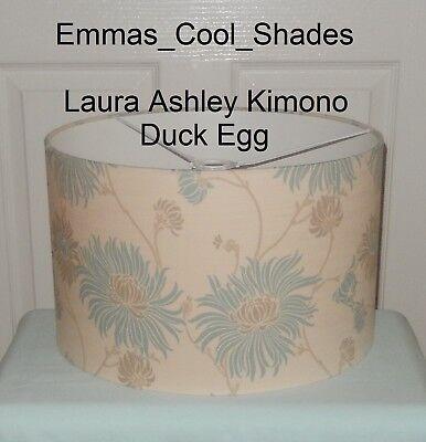 Handmade abat-jour Laura Ashley Kimono Œuf Canard Tissu Bespoke abat-jour 20 30 40 cm