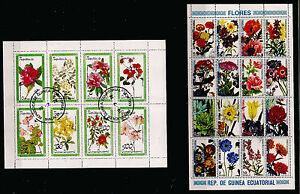 GUINEA-ECUATORIAL-2-Cuadernos-flores-campos-cultura-de-039-ornamento-BL164