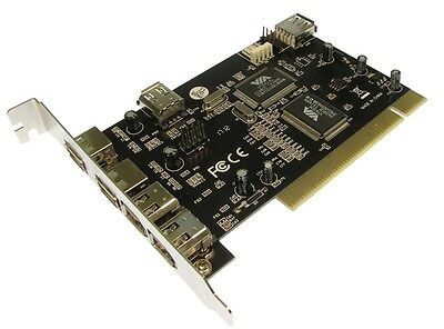 Pci Firewire Usb 6 Port Combo Card 3x Usb 2 Ext 1 X Int 3x Ieee 2 Ext 1 X Int- Sapore Fragrante (In)