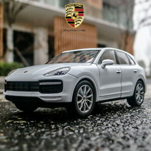 Welly-Porsche-Cayenne-Turbo-Escala-1-24-Modelo-Automovil-Blanco-Juguete-Diecast-Coleccion