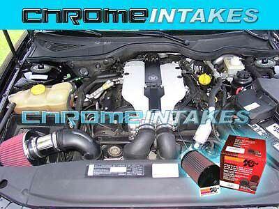 97 98 99 00 01 Cadillac Catera 3.0 3.0L V6 Air Intake+K/&N