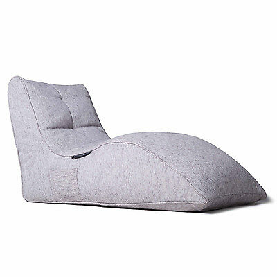 Grey Tundra Interior beanbag for Home Cinema Sofa lounge Avatar Lounger Bean Bag