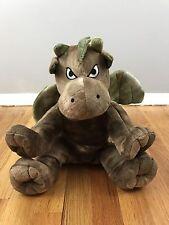 Dragon Gargoyle w/ Wings Plush Stuffed Animal The Bear Factory Brown
