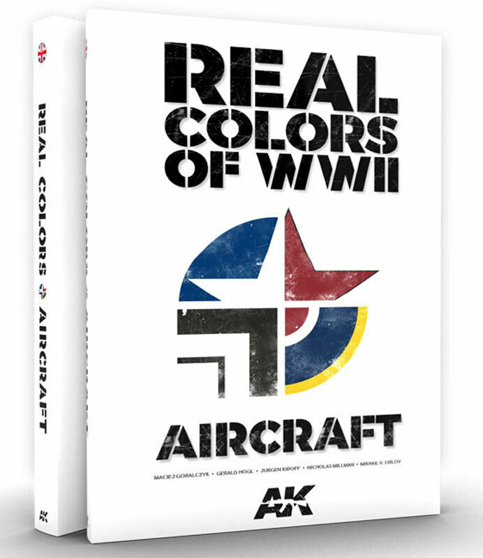 AK Interactive AKI-290 Real Colors of WWII For Aircraft
