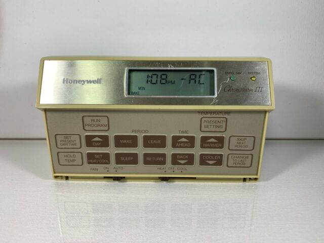 Honeywell Chronotherm Iii Programmable Thermostat For Sale