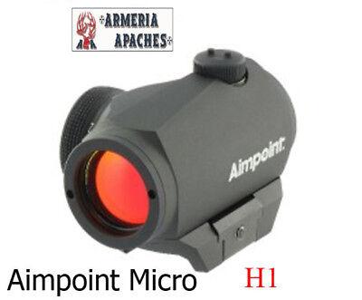 Attacco slitta ottica punto rosso Contessa ultra low per Aimpoint H1 T1 H2 T2