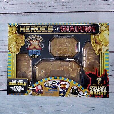Treasure X Heroes VS Shadows Real Gold Guaranteed Treasure Mystery Shadow Beast