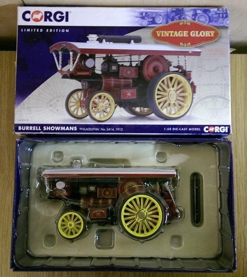 Corgi CC20515 Burrells Showman Philadelphia No.3414 1912 Ltd Ed. No. 404 of 1000