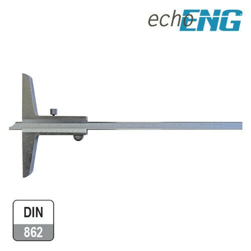 Calibro di profondità 0-150 mm acciao INOX 1//50 0,02 professionale SM 10 CLP2