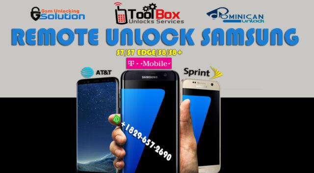 Details about INSTANT! Samsung Galaxy S8/S8+ Plus (G950U/G955U) T-MOBILE  Unlock Remote Service