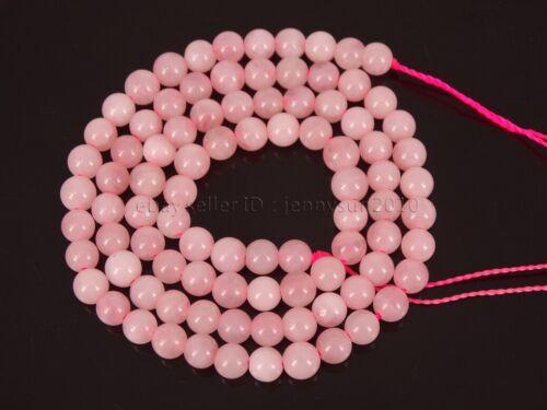 Natural Madagascar Rose Quartz Gemstone Round Beads 15.5/'/' 4mm 6mm 8mm 10mm 12mm