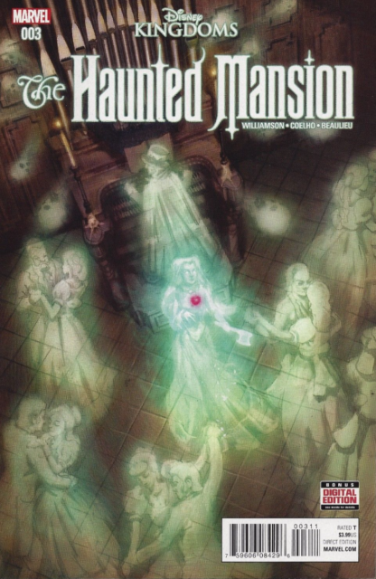 Haunted Mansion #3 MARVEL COMICS  COVER A 1ST PRINT